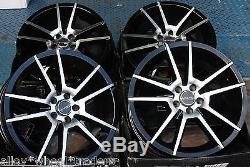 17 Double 5 Wheels Alloy For 5x98 Alfa Romeo 147 156 164 Gt Fiat 500l Doblo