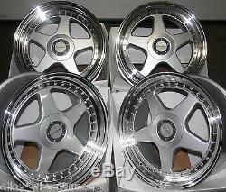 17 Dr-f5 Wheels Alloy 5x98 Alfa Romeo 147 156 164 Gt Fiat 500l Doblo