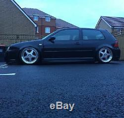 17 F5 Silver Alloy Wheels 5x98 Alfa Romeo 147 156 164 Gt Fiat 500l