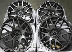 17 G Dare X2 Alloy Wheels For 5x98 Alfa Romeo 147 156 164 Gt Fiat 500l Doblo
