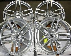 17 Slv Drc Drs Wheels Alloy 5x98 Alfa Romeo 147 156 164 Gt Fiat 500l