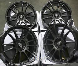 18 Gm Suzuka Wheels Alloy 5x98 Alfa Romeo 147 156 164 Gt Fiat 500l Doblo