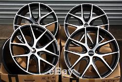 18 Novus 01 Bp Alloy Wheels For Alfa Romeo 159 Brera Giulietta Giulia 8c