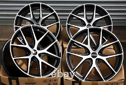 18 Novus 01 Bp Wheels Alloy For Alfa Romeo 159 Brera Giulietta Giulia 8c