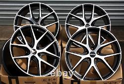 19 Novus 01 Bp Wheels Alloy For Alfa Romeo 159 Brera Giulietta Giulia 8c