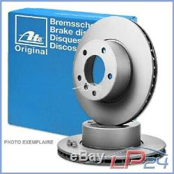 2x Ate Front Brake Disc Ventilated Ø284 Alfa Romeo Gtv 95-98 Spider 98-05 2.0