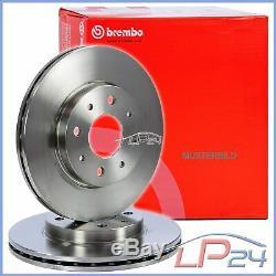 2x Brembo Brake Disc Front Vented Ø284 Alfa Romeo 147 1.6-2.0 01-10