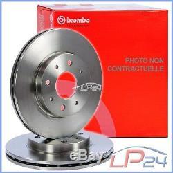 2x Brembo Front Vented Brake Disc Ø284 Alfa Romeo Spider 2.0 3.0 V6 95-05