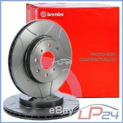 2x Brembo Sport Max Brake Disc Ventilated Front Ø284 Alfa Romeo 147 01-10