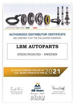 6. Gangrad For Opel Fiat Alfa Romeo M40 Speed Box 37-48 Pn Teeth 12754