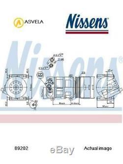 Air Conditioning Compressor For Fiat Doblo Mpv Opel Alfa Romeo 263 Kfv Nissens