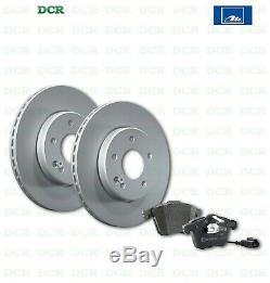 Brake Pads Kit Discs Front And Ate Alfa Romeo 147 (937) 1.6 16v Ts