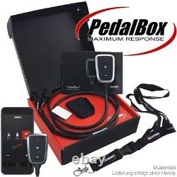 Cities System Pedal Box Plus With Keychain App For Alfa Romeo Cadillac