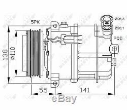 Compressor Air Compressor Air Compressor Alfa Romeo 159 05- Nrf