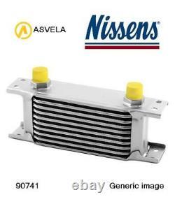 Cooler Engine Oil For Opel Corsa E X15 B 16 Ler The Nissens