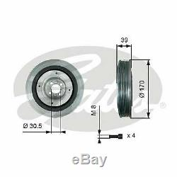 Crankshaft Pulley Belt For Alfa Romeo 145 146 147 156 159 Brera Giulietta