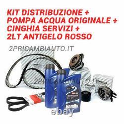 Distribution Belt Kit, Original Alfa Romeo Water Pump 159 939 1.9 Jtdm 8v