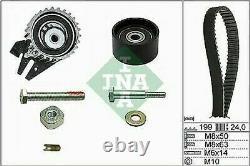 Ina Distribution Belt Kit + Bugatti Water Pump Alfa Romeo 159 1.9 Jtdm /
