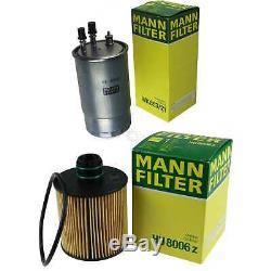 Mann-filter Set Alfa Romeo Mito 1.6 Jtdm 955 940 2.0 D Multijet