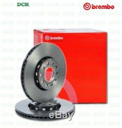 Pair Brake Discs Brembo 09.4939.76 Alfa Romeo Fiat Vauxhall
