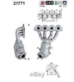 Retec Pot Catalytic 06.60.058a For Alfa Romeo Fiat Opel + Mounting Kit