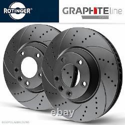 Rotinger Graphite Sports Brake Discs Front Alfa Romeo 147