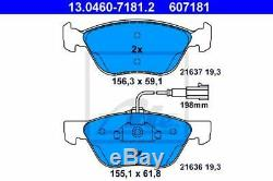 Set Discs Front Pads Ate Alfa Romeo Gt 1.9 Jtd 150hp 110kw From