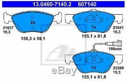 Set Pads And Discs Front Ate Alfa Romeo 147 (937) 1.9 Jtdm 16v 150cv