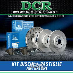 Set Pads And Discs Front Ate Alfa Romeo 147 (937) 1.9 Jtdm 16v 150hp