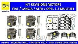 Set Review Engine Fiat Lancia Alfa Romeo Opel 1.3 Multijet 16v Mtj 1300 CC