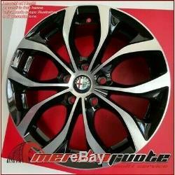 Villeneuve Bd Kit 4 Alloy Wheel Nad 16 5x110 Et35 X Alfa Romeo Spider Brera