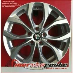 Villeneuve If Set 4 Alloy Wheels Nad 17 5x110 Et40 Alfa Romeo Giulietta 940