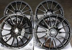 18 B Fx004 Roues Alliage pour 5x98 Alfa Romeo 147 156 164 Gt Fiat 500l Doblo