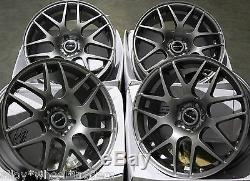 18 Dare X2 Roues Alliage pour 5x98 Alfa Romeo 147 156 164 Gt Fiat 500l Doblo