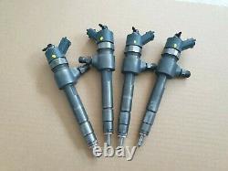 4x Buse d'injection injecteurs Alfa Romeo Fiat Opel Saab 1,9 CDTi Ref. 0445110276