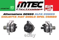 51808561 Alternateur Récupéré Denso Alfa Romeo Giulietta Fiat Doblo Opel Combo