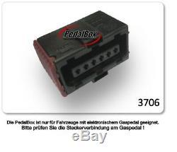 DTE Système Pedal Box 3S pour Alfa Romeo Mito 955 à partir de 07.2 1.3L L Jtdm