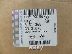Électrovanne Egr Opel Fiat Alfa Romeo 93196799