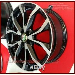 Esse1/bp Kit 4 Roues En Alliage 17 Pour Alfa Romeo Giulietta (940) 1.4 Bifuel