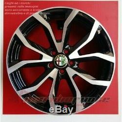 Esse1/bp Kit 4 Roues En Alliage 17 X Alfa Romeo Giulietta 940 10 À Partir De