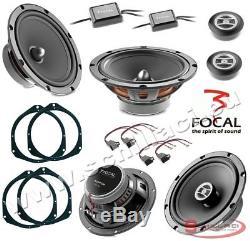 Kit 6 HP enceintes haut-parleurs FOCAL pour FIAT / ALFA ROMEO / LANCIA / OPEL av