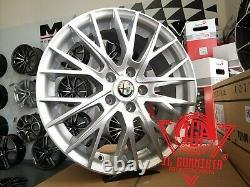 MM1009 Si 1 Jante Alliage Ece 7J 17 5X110 ET40 65 Alfa Romeo Fiat Opel Jeep