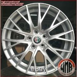 Mm1009 Si 4 Jantes En Alliage Ece 17 5x110 Alfa Romeo Giulietta Turbo Jtdm Sport