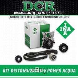 Pompe à Eau + Set Sangles Distribution Ina 530045030 Alfa Romeo Chevrolet