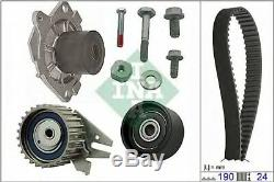 Pompe à Eau + Set Sangles Distribution Ina 530062430 Alfa Romeo Fiat Saab Vau