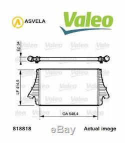 Refroidisseur Chargeur pour Saab 9 3 YS3F Z 19 Dt Z 19 Dth 9 3 Break YS3F Valeo