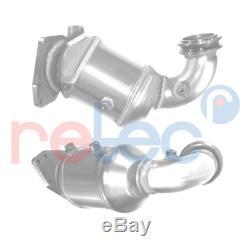 Retec Catalyseur 06.91.038 avant pour Alfa Romeo Fiat Opel Saab + Kit de Montage