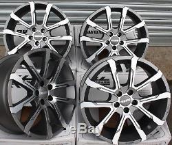 Roues Alliage X 4 8.0+ 7.0 X 17 Quantum pour 5X98 Alfa Romeo 147 156 Gt Fiat
