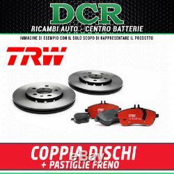 Set Plaquettes et disques Avant TRW ALFA ROMEO 147 (937) 1.9 JTD 115CV 85KW