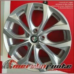 Villeneuve Si Set 4 Jantes en Alliage NAD 17 5X110 ET40 Alfa Romeo Giulietta 940
